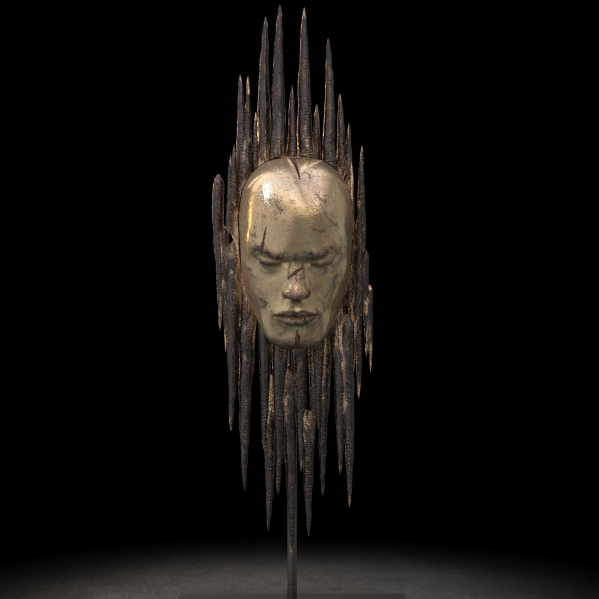 KUMAN | Œuvres d'art - Blessure bronze