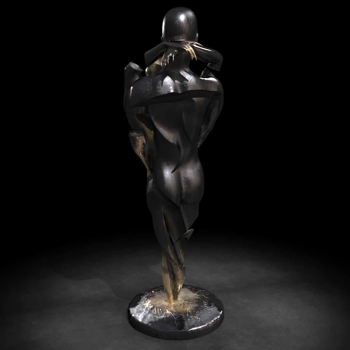 KUMAN | Œuvres d'art - Union bronze