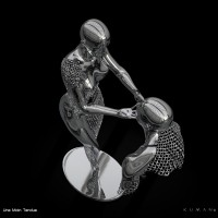 KUMAN   Œuvres d'art - Une main tendue