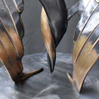 KUMAN | Œuvres d'art - Messager bronze